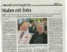 Presseartikel Stadtzeitung, 20. Juni 2012